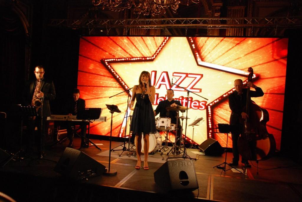 Prestation du groupe All in Jazz à l'hôtel Westin - Paris