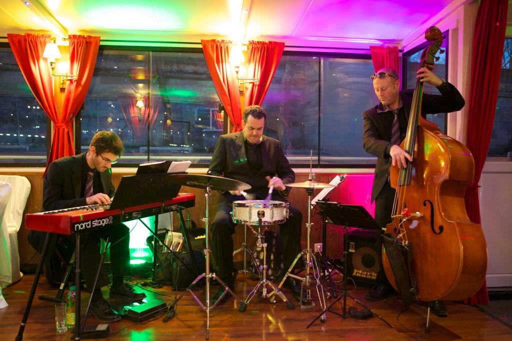 Groupe de jazz trio