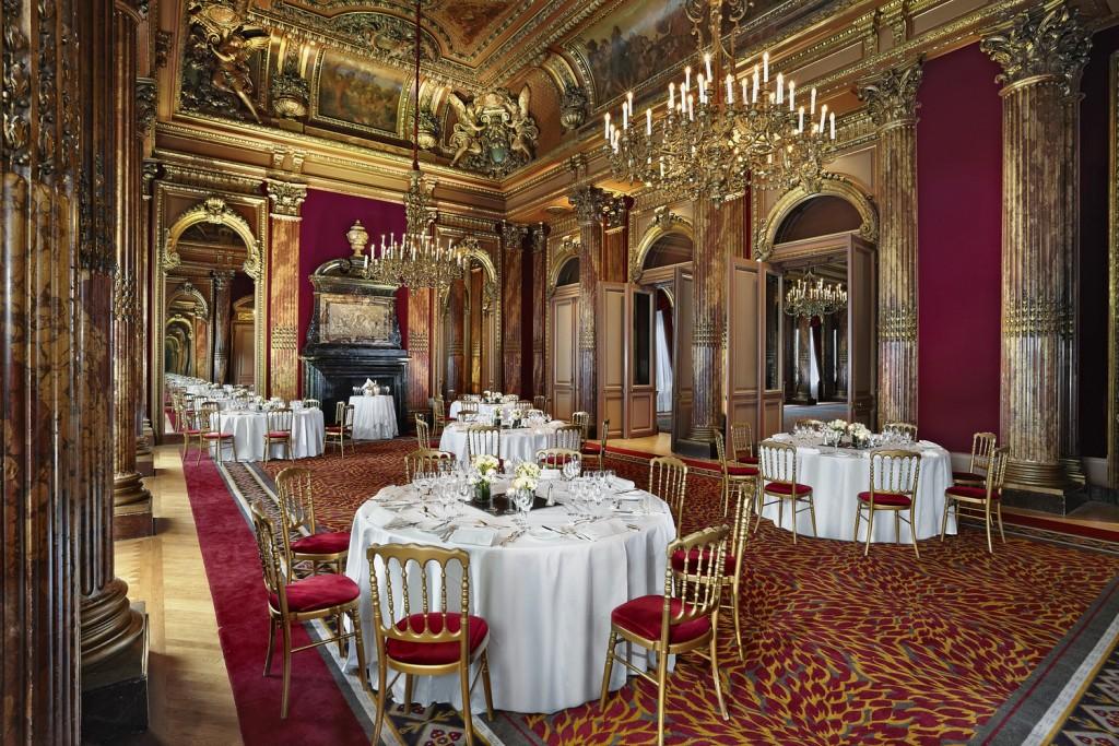 Évènement d'entreprise salle Aiglon Westin Paris