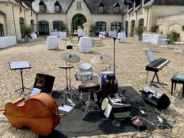 Jazz Mariage dans l'Oise - Vue de la scène