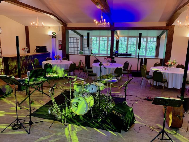 Jazz mariage en normandie au manoir de Sens