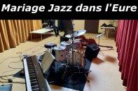Mariage jazz dans l'Eure
