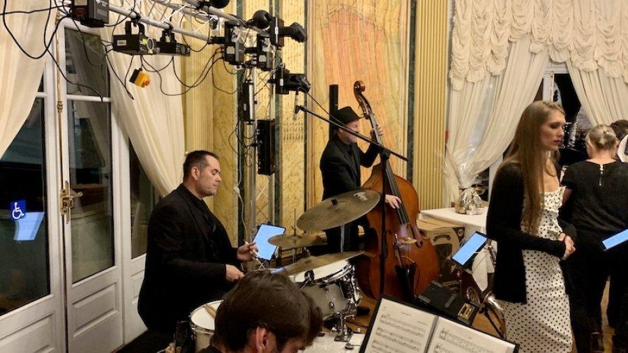 Groupe jazz anniversaire à Bethune