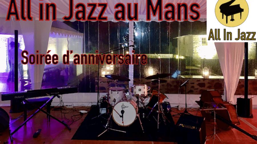Groupe de jazz au Mans