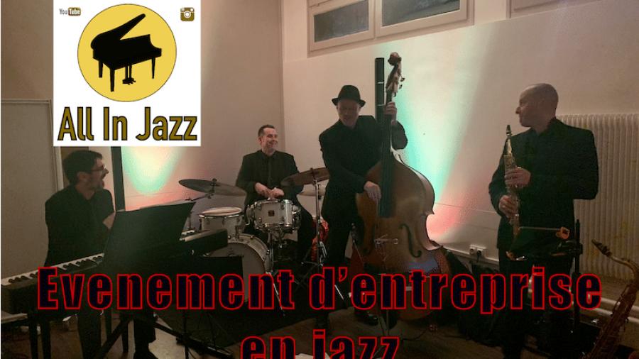 Évènement d'entreprise en jazz